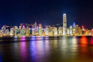香港城市夜景
