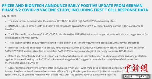 重大突破全球三大研究团队同日公布新冠疫苗研发进展