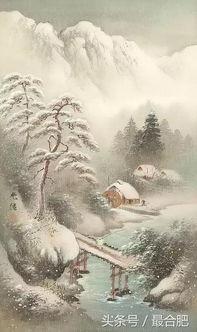 关于 雪 的古诗句和成语,值得收藏
