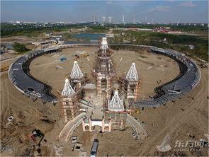 瞰上海丨航拍建设中的浦江郊野公园