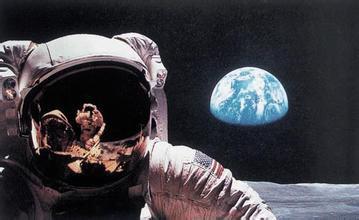 从月亮上看地球好恐怖