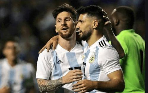 媒体曝光阿根廷战哥伦比亚首发442阵型梅西搭阿圭罗