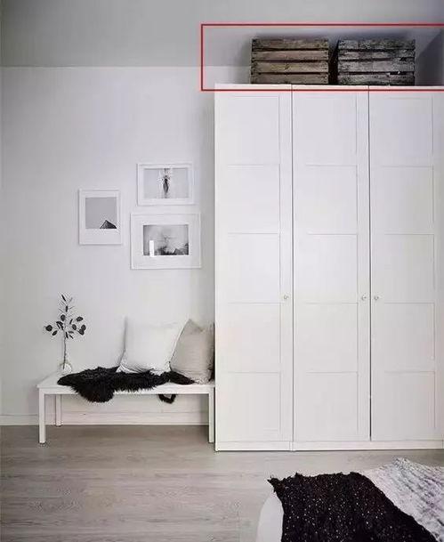 整体衣柜不通顶