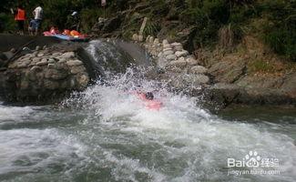 杭州龙井峡漂流