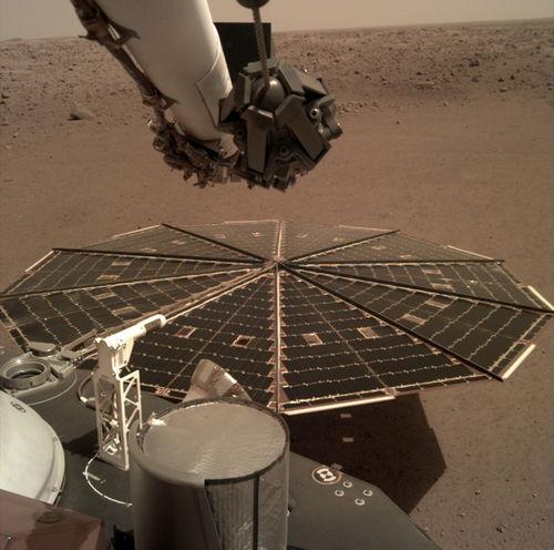 洞察号让人类首次听到火星风声.