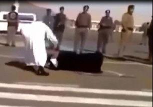英媒揭秘 野蛮之国 沙特 当街砍下女子的头
