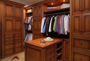 新美式衣柜
