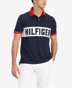 Tommy汤米男士POLO衫新款经典男半袖T恤宽松舒适百搭时尚男上衣 美国