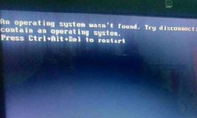 电脑开机黑屏出现英文(台式电脑开机显示英文不动)_1930人推荐