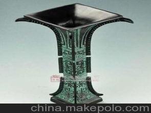 青铜器方觚仿古青铜器青铜器厂家青铜器批发工艺品图片