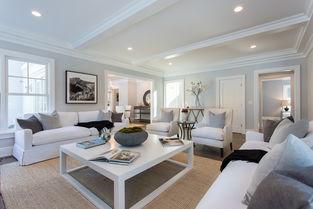 白色大气别墅客厅装修效果图