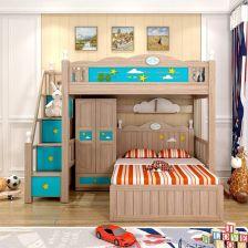 实木床衣柜