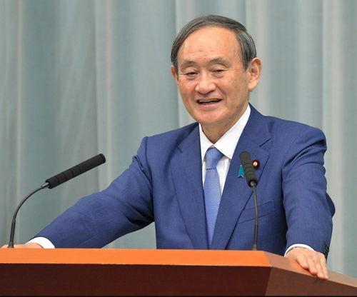 日本内阁官房长官菅义伟(朝日新闻