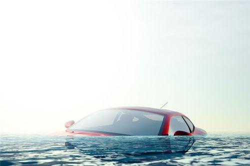 做梦梦见坐车掉海里
