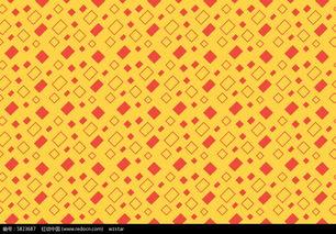 黄色格子布纹图案图片免费下载 编号5823687 红动网