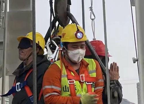 栖霞金矿救援11名矿工成功升井,障碍物中现空洞成救援关键