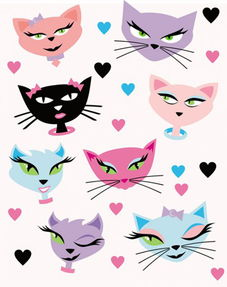 卡通猫咪的品牌有哪些
