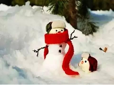 有关雪人的诗句