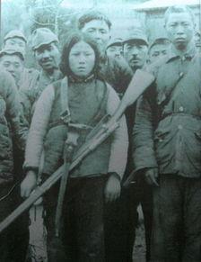 抗日战场上被日军俘虏的中国女兵 组图