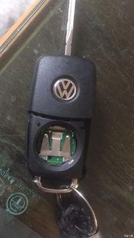 大众15朗逸车钥匙无法遥控