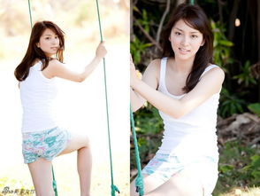 日本90后女星武井D甜美写真 笑容元气超阳光