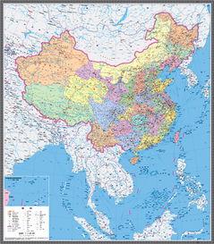 新中国地图南海诸岛与大陆首次同比例展示