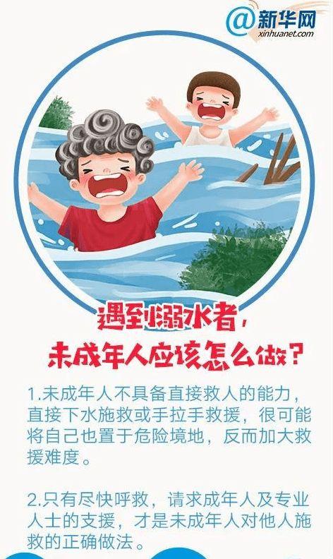 防溺水安全常识十条