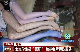 会所花样多 暗访郑州丝袜会所 女孩用脚为记者服务