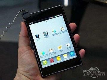 LG F100L Optimus Vu LTE 十分抢眼