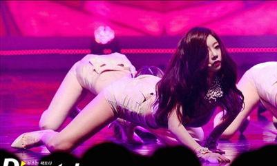 韩国女团舞台表演性感过头遭民众纷纷抗议