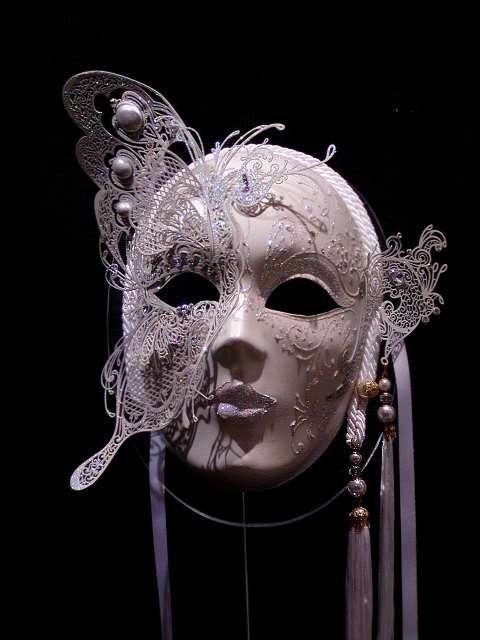 心理测试凸面面具