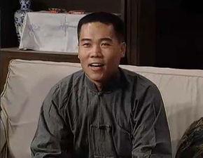电视剧《我爱我家》剧照,司马南客串角色.