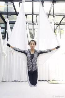 女神是怎样炼成的 国民女神刘涛空中瑜伽导师kinki做客虎杰体育