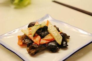 山药炒胡萝卜香菇木耳的做法大全家常做法