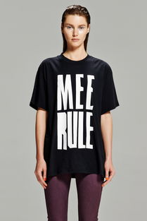 黑色女装t恤