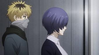 东京RE 金木被救后众人的表情,月山习一脸嫌弃,董香被头发遮住