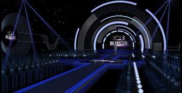 舞台设计 首都科技盛典 舞美设计方案二