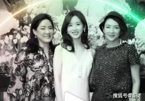 章泽天的右手边是亿万富翁冯咏仪。