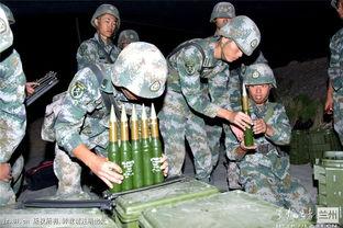 某高炮团实弹射击演练历时30小时耗弹千发组图