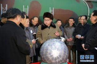 金正恩参观核工厂 疑似秘密武器引发高度关注