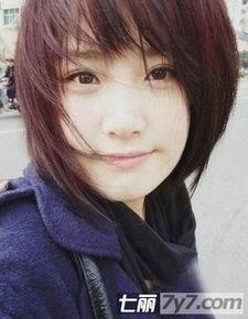 长脸适合什么发型 2013时尚短发发型图片推荐