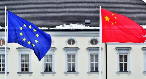 中国与欧盟(新闻配图)