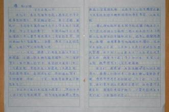 中考600字作文范文10篇
