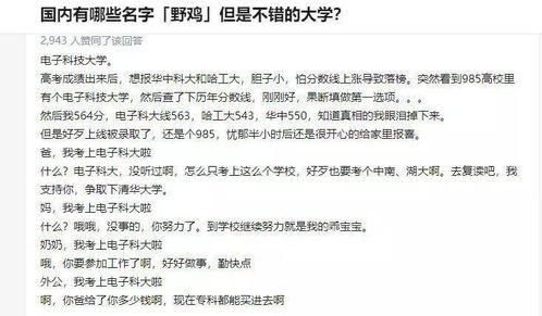 中国野鸡大学有哪些 学校大全