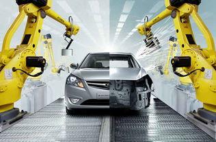 机器人电缆作为工业机器人