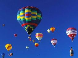热气球个性图片