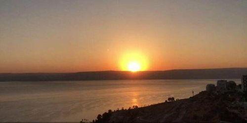 形容夕阳很美的句子