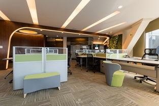 形砌室内设计 迎光斜轴 办公空间