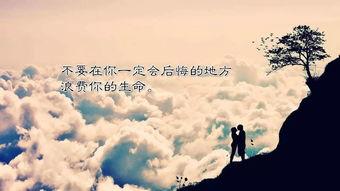 赞美爱情的唯美四客服语