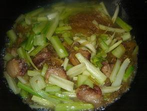 芹菜粉条肉的做法大全